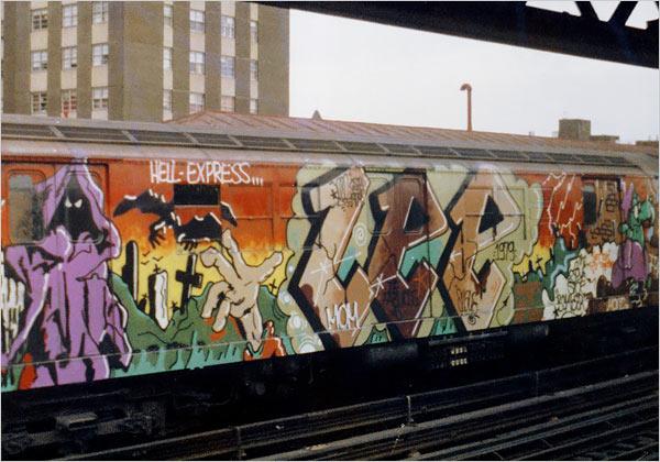 Is Graffiti Art Or Vandalism The Telegraph