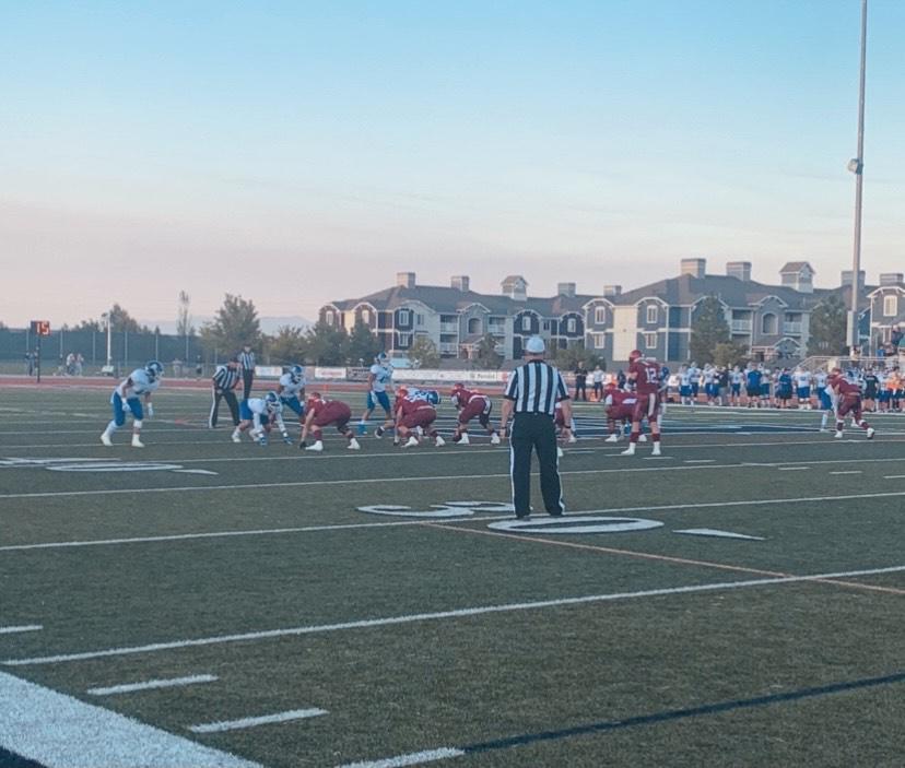 The Mustangs Suffer Tough Fourth Quarter Loss to Bingham High School