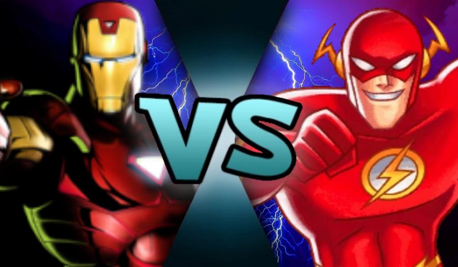 Iron+Man+vs+The+Flash+-+Who+is+the+Better+Superhero%3F